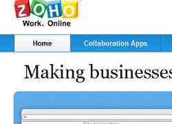 Zoho Notebook and Zoho apps