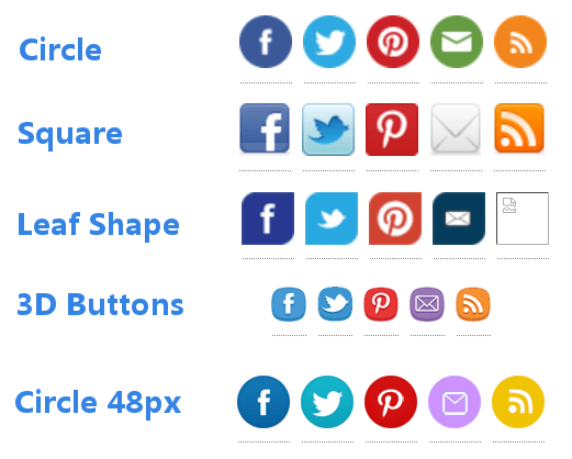 Review: Top 25 Social Icons plugin