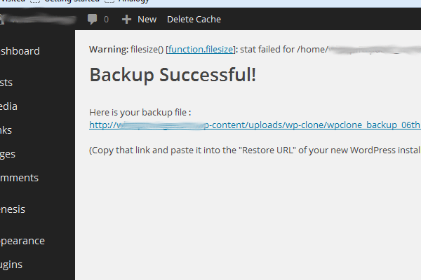 Easiest way to move a Wordpress installation to a new host